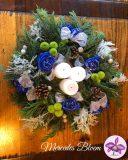 Kerst in het blauw